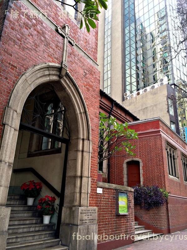 咖啡店外的教堂(博客圖片)
