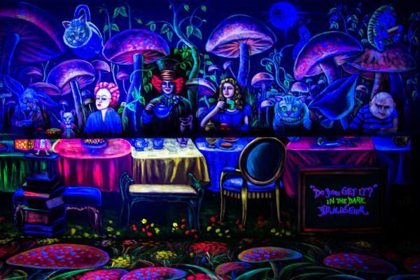 3D魔幻夜光自拍館