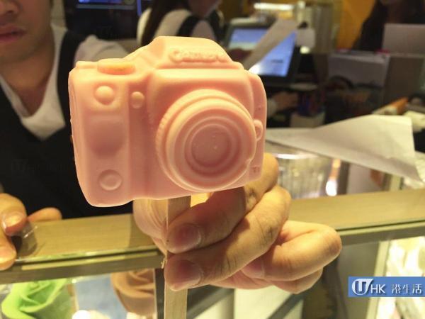 相機造型雪糕每枝$35