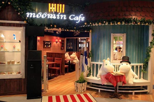 Moomin Cafe 香港首間姆明主題咖啡店