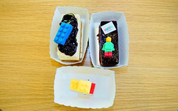 銅鑼灣AA Place Lego Cafe 蛋糕(圖:《Lego專門店的蛋糕~足足去了三次先食到》)