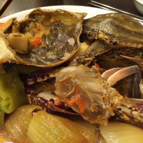 佐敦醬缸韓國料理 醬油蟹
