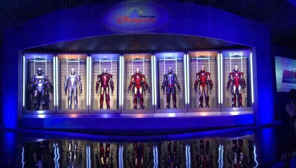 Iron Man,2016年香港迪士尼見 (圖片來源: 香港迪士尼樂園)。