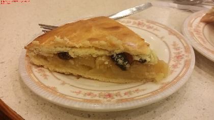 大埔華輝餐廳 蘋果批(圖:U Blogger-elaine)