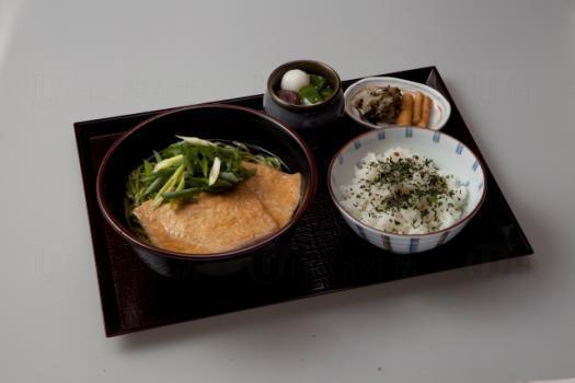 The ONE中村藤吉香港店 日本腐皮抹茶蕎麥麵定食