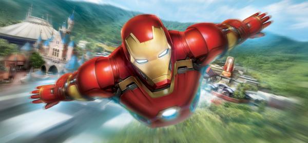 「鐵甲奇俠飛行之旅」(FB@香港迪士尼樂園)