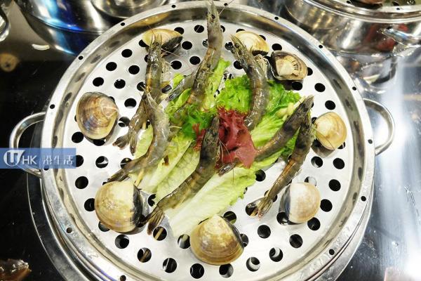 第二層:海蝦、花蛤