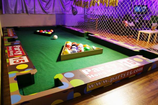 Party15HK Pool Soccer!