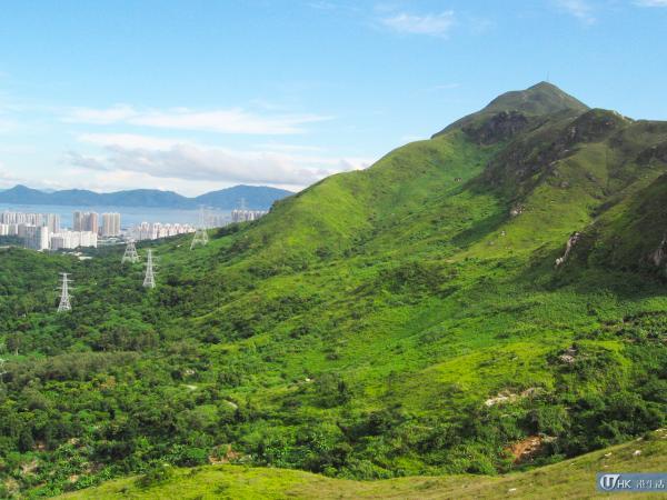 香港三尖之一─青山