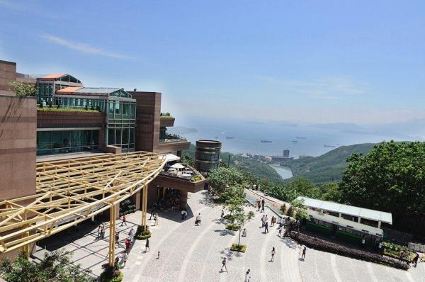 山頂廣場獲批建「空中飛索」(圖:FB@山頂廣場)