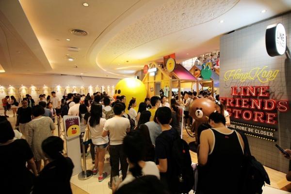 LINE Friends 香港專門店第二階段將於9月3日全面開幕。
