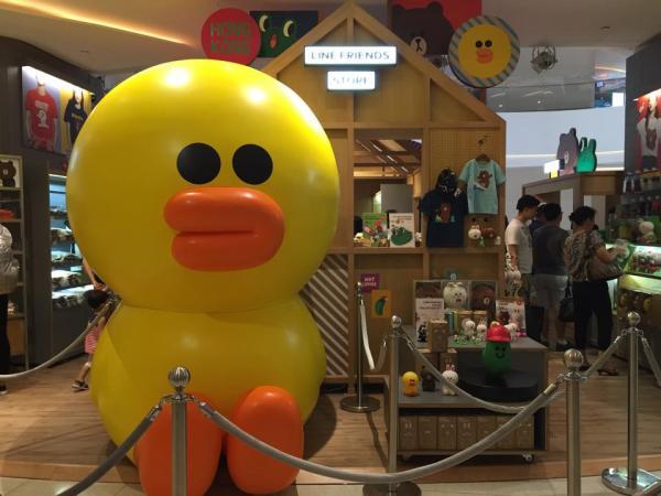 預計香港店亦會出售LINE Friends 公仔及文具。