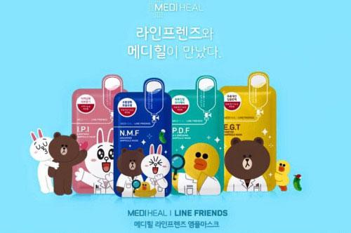 Wishh! Mediheal與LINE FRIENDS