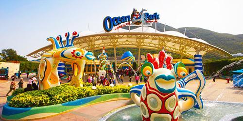 海洋公園萬豪酒店(圖:香港旅遊發展局)