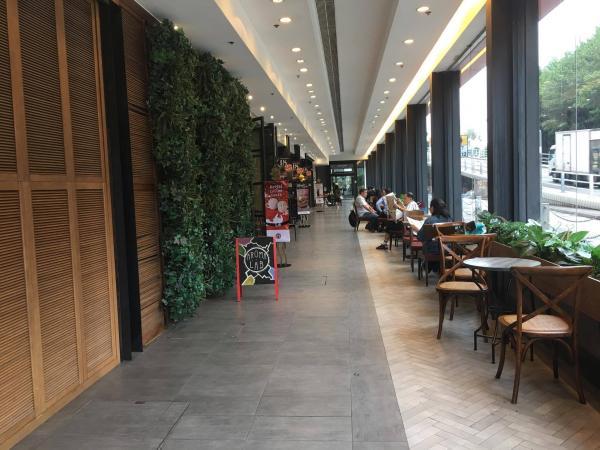 一進門,右邊是落地大窗以及多種的小植物,陽光透入店內,文青味十足。