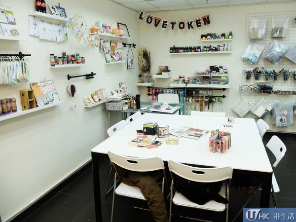 Love Token 設Explosion Box禮物盒工作坊。