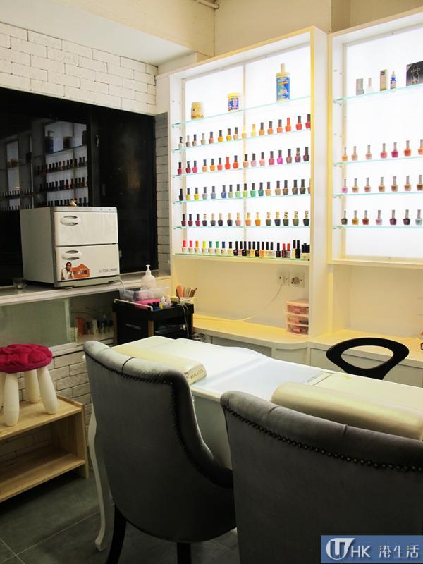 Soo Hair最大賣點是理髮店內附設韓國人主理的韓式美甲部。