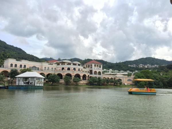四人水上單車(圖片來源:FB@白鷺湖互動中心)