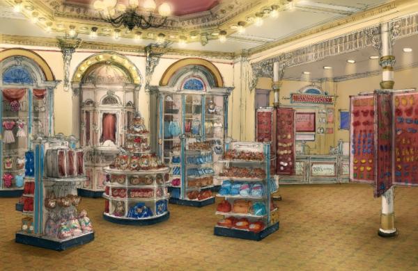 迪士尼小熊主題商店