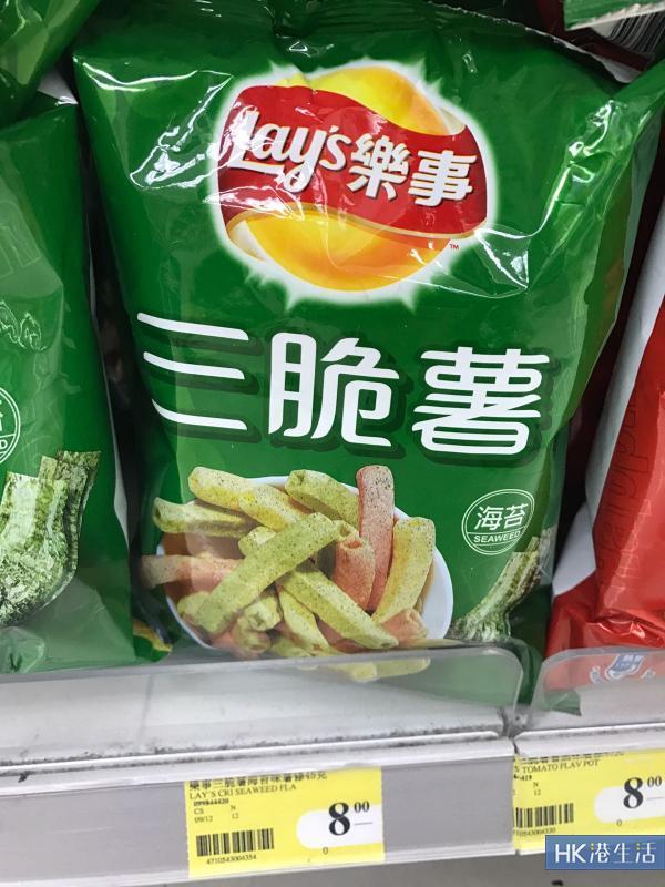 Lay's新口味!蕃茄、海苔通心薯條