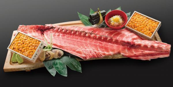包房歎築地鮪魚魚骨與特選馬糞海膽!豊洲水產海鮮丼VIP