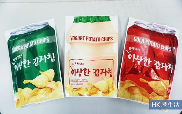 益力多乜乜乜!韓國「奇怪」飲品味薯片