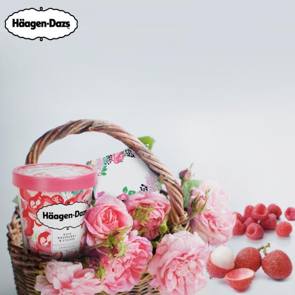 超浪漫粉紫杯!Häagen-Dazs 全新花果系列雪糕