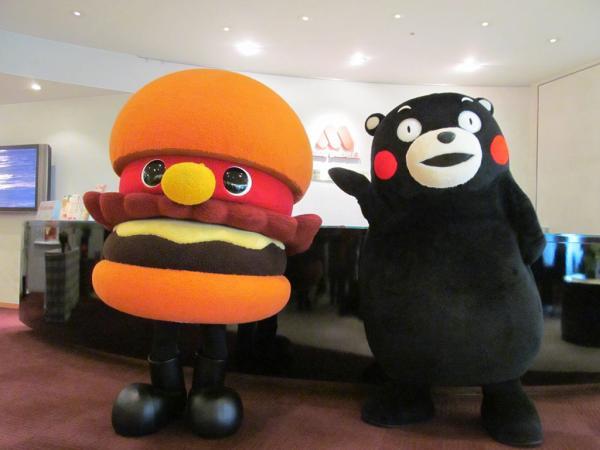 香港都有得賣!熊本熊主題漢堡即將登陸MOS Burger