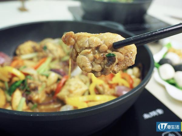 點心+海鮮+任食火鍋料!觀塘新開「五味」火焰雞煲店