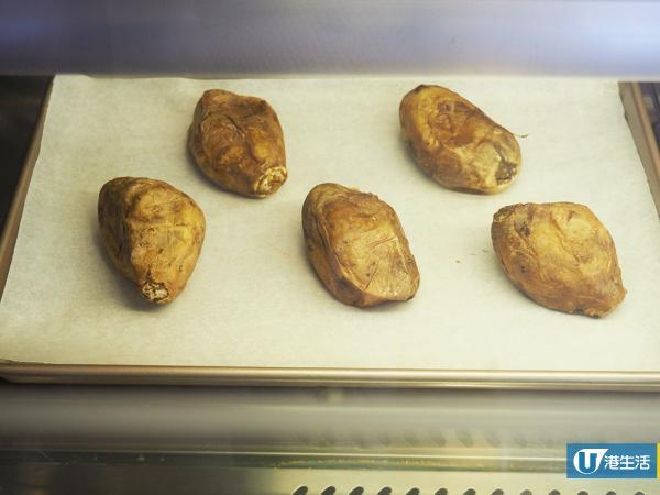 旺角掃台灣街頭小食  冰烤番薯冰感幼滑似雪糕!