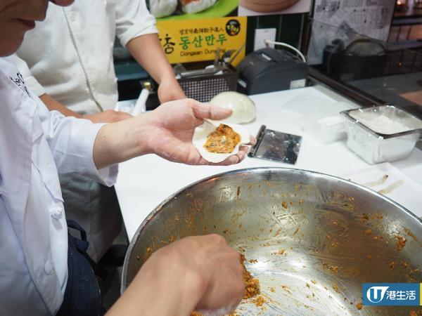 韓國過江龍東山餃子抵港 招牌脹卜卜爆餡鮮蝦肉餃