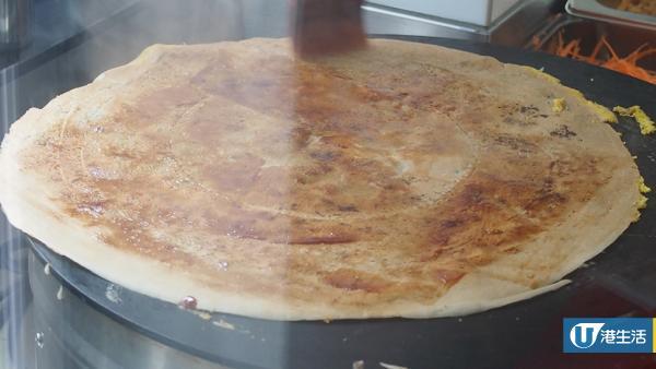 灣仔掃街新寵煎餅小食店  即製熱辣辣烤鴨煎餅
