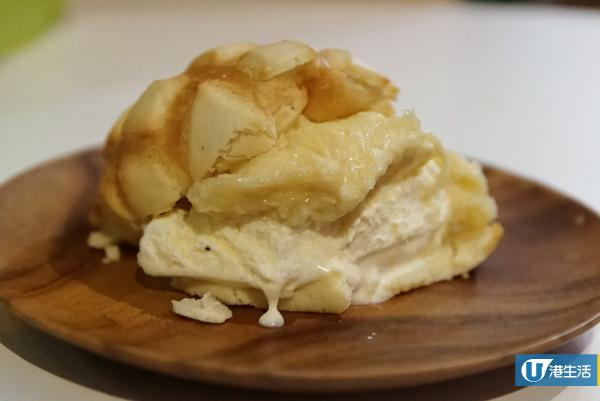 銅鑼灣榴槤雪糕包   世界第2好味蜜瓜包推新口味