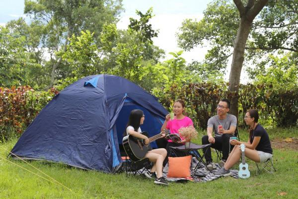 全海景懶人露營!$300/2位包早餐、搭營、交通、廚房浴室