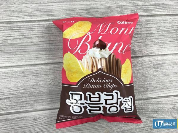 全新口味 韓國栗子蛋糕薯片 超薄超脆