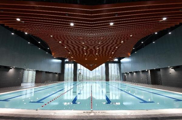 青衣西南康體大樓7月尾啟用 區內首設攀登牆+室內暖水池