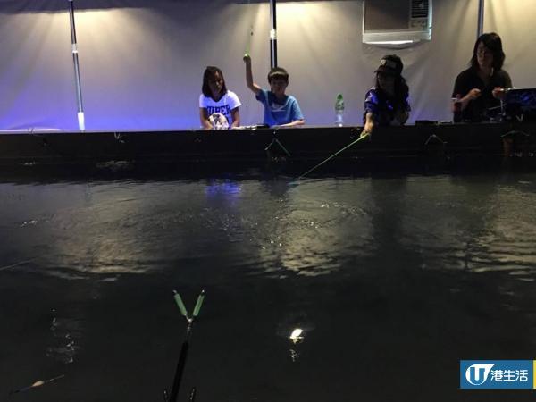 觀塘新開3000呎室內釣蝦場!任釣即燒泰國大頭蝦