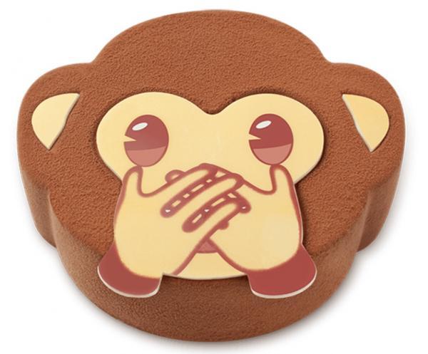 便便造型朱古力蛋糕登場!聖安娜新一擊emoji 系列