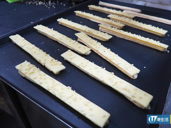旺角夏季新口味街頭甜品 外熱內冷榴槤脆脆棒