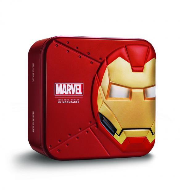 美心首推MARVEL月餅禮盒 與超級英雄過中秋