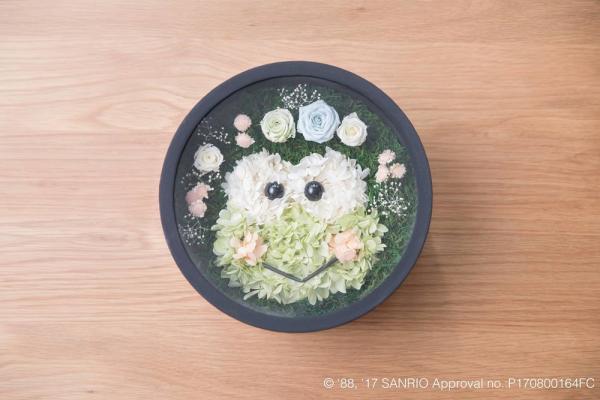 Sanrio人物變身浪漫花盒!Sanrio官方授權保鮮花盒
