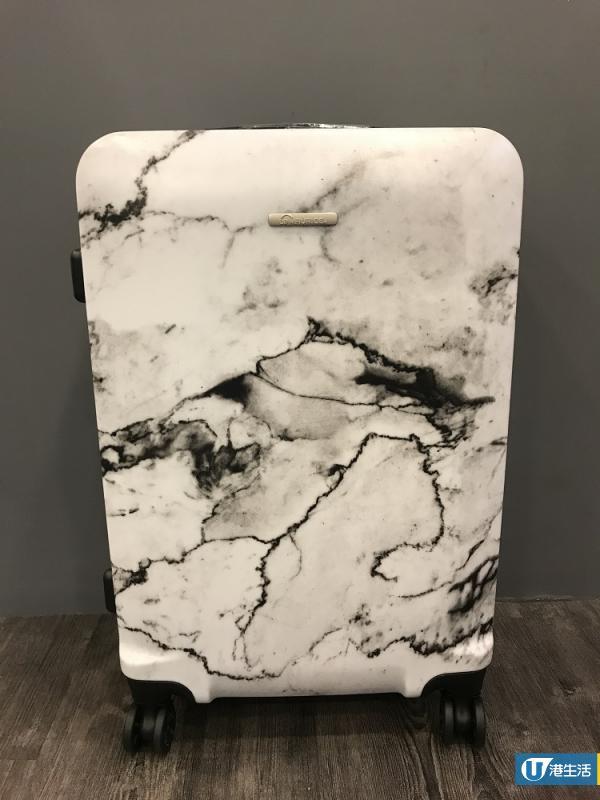 雲石控留意!法國品牌Le Maurice推雲石系列行李箱