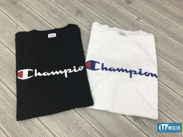 運動風x街頭元素!5cm聯乘Champion服飾新品逐件睇
