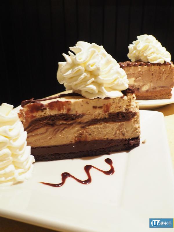The Cheesecake Factory推6款新品 濃滑Nutella朱古力脆脆蛋糕