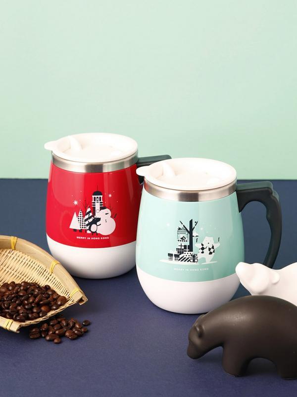 Pacific Coffee聖誕商品登場 薄荷綠駱駝牌保溫壺最搶眼!