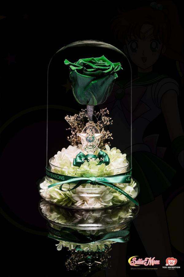 香港花店買到!限定版美少女戰士保鮮花盒