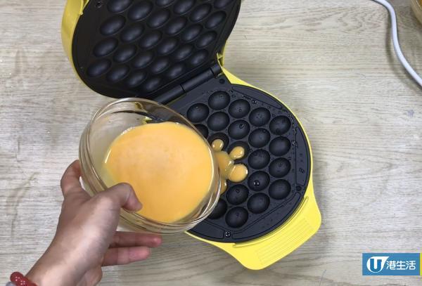 十分鐘搞掂!試用蛋黃哥雞蛋仔機