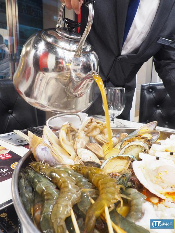 巨型香辣海鮮火鍋殺入銅鑼灣 食勻新鮮鮑魚、花蟹、貴妃蚌!