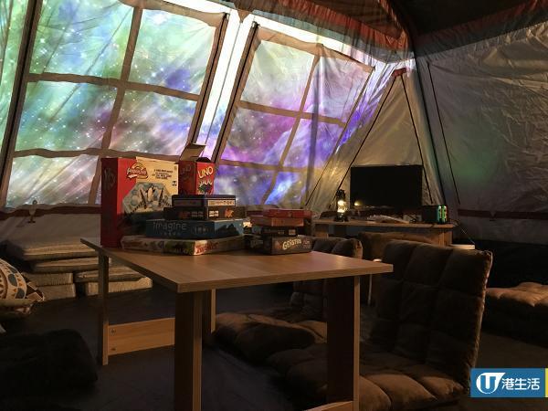 葵芳花海星空Party Room 透明波波營/飄雪/單人K房