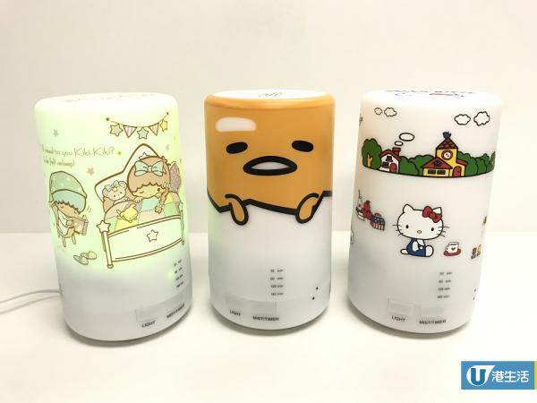 Sanrio加濕香薰機 變色LED燈/超聲波加濕